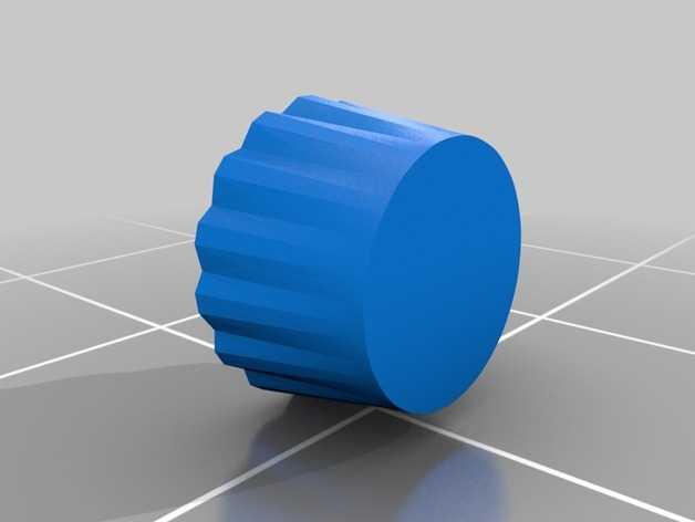 杯形蛋糕制作模具 3D打印模型渲染图