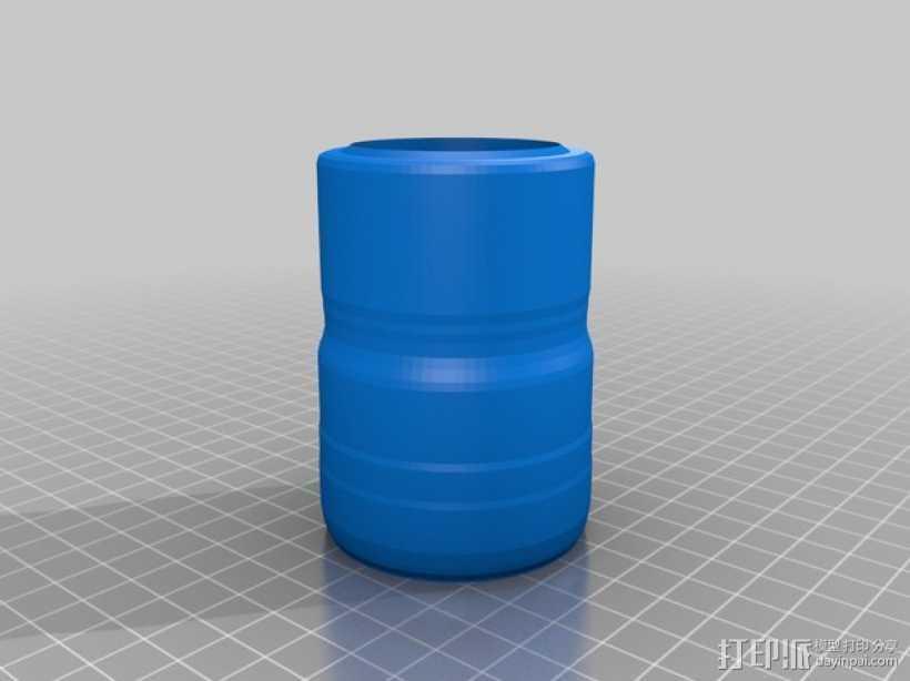 水杯 3D打印模型渲染图