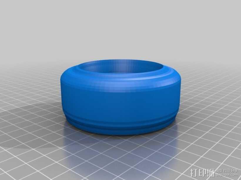 宠物碗 3D打印模型渲染图
