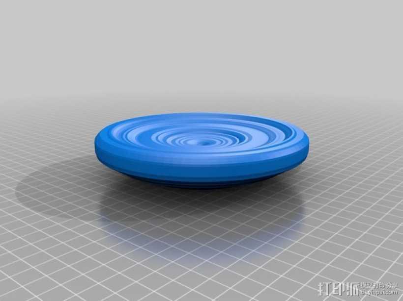 茶托 3D打印模型渲染图