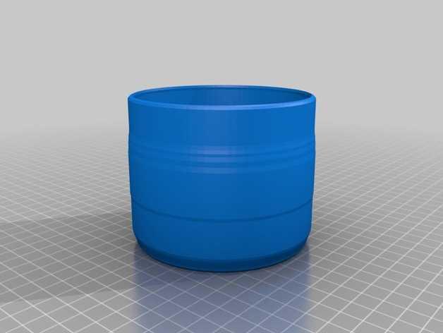 水杯2  3D打印模型渲染图