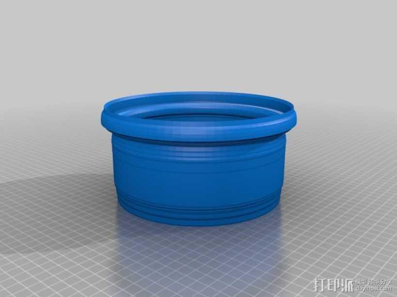 花盆3 3D打印模型渲染图
