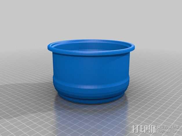 花盆1 3D打印模型渲染图