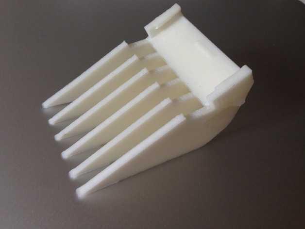理发推子发梳/梳子 3D打印模型渲染图