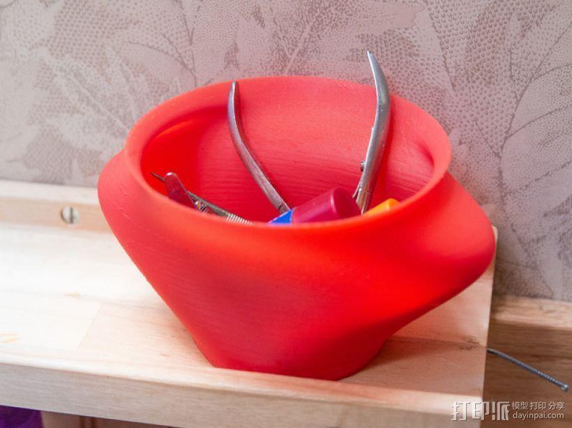 储物花瓶 3D打印模型渲染图