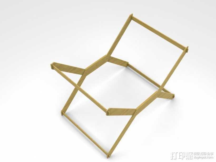 迷你A3纸纸架 3D打印模型渲染图