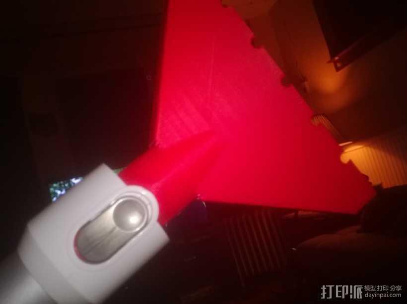 戴森手持式吸尘器吸嘴 3D打印模型渲染图