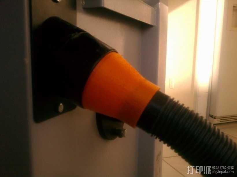 真空吸尘器零部件 3D打印模型渲染图