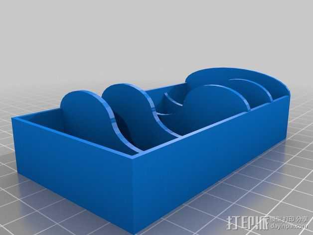 迷你置物架 3D打印模型渲染图