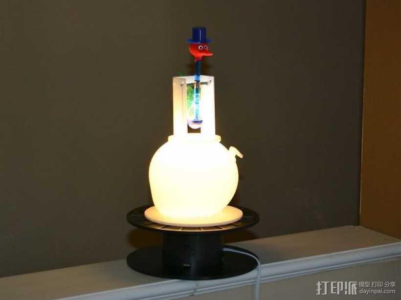 MakerBot茶壶灯罩 3D打印模型渲染图