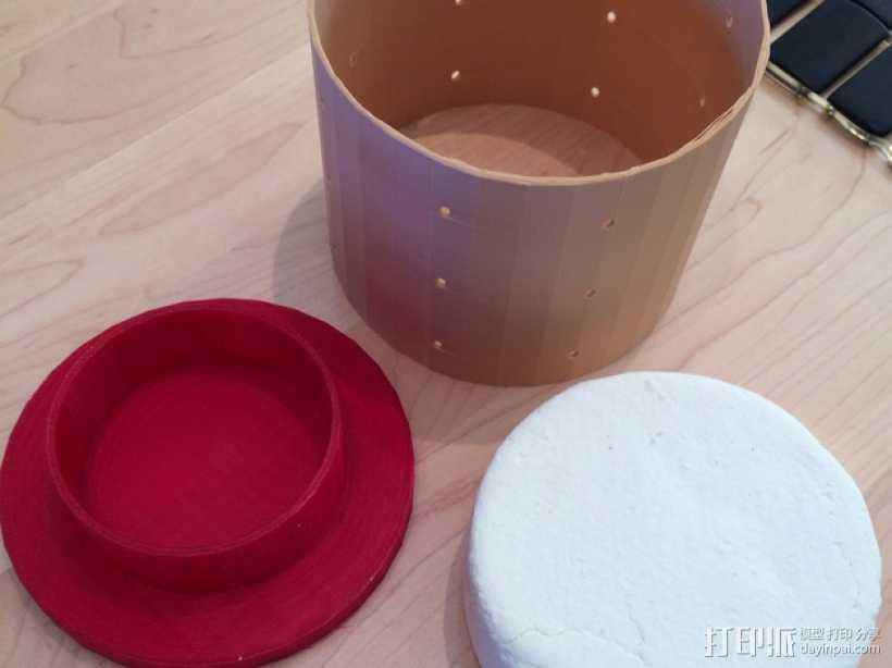 奶酪制作模具 3D打印模型渲染图