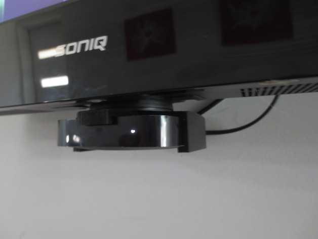 苹果电视支架 3D打印模型渲染图