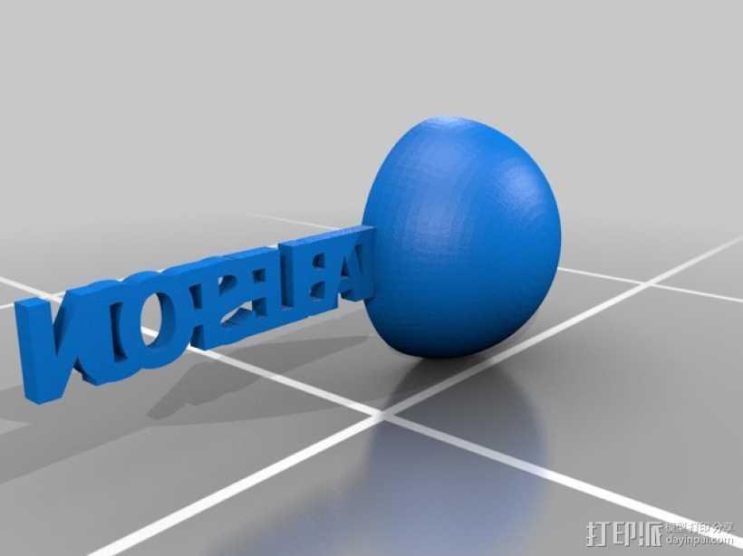 汤匙/茶匙 3D打印模型渲染图
