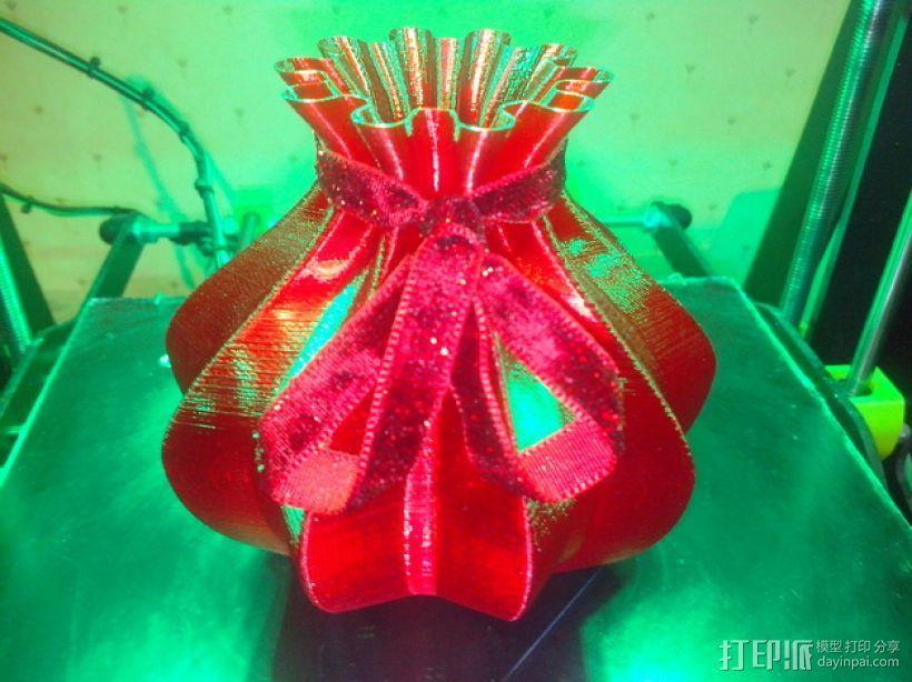 个性化伸缩礼物盒 3D打印模型渲染图