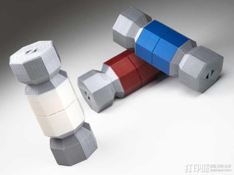 糖果形礼物盒 3D打印模型渲染图