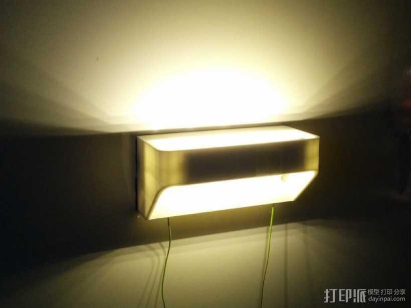 LED灯灯罩 3D打印模型渲染图