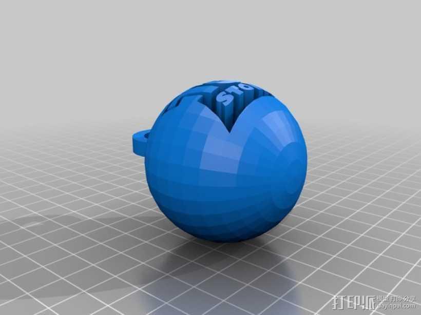小球 装饰品 3D打印模型渲染图