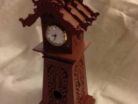 古典精美时钟