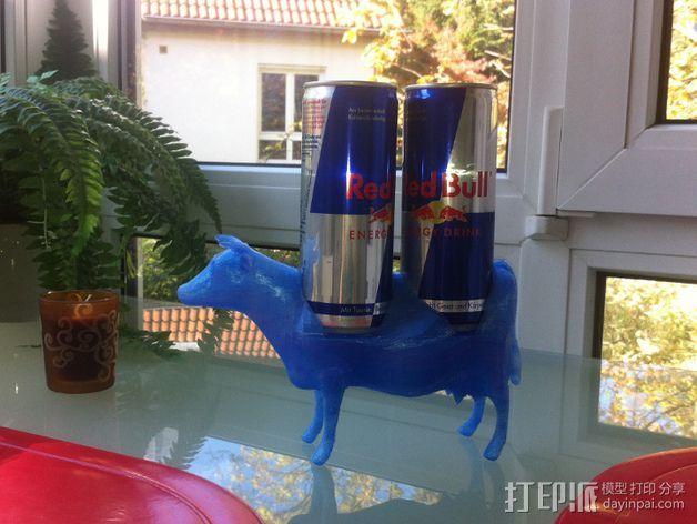 红牛饮料架 3D打印模型渲染图