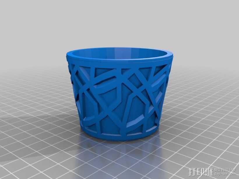 定制化餐巾环 3D打印模型渲染图