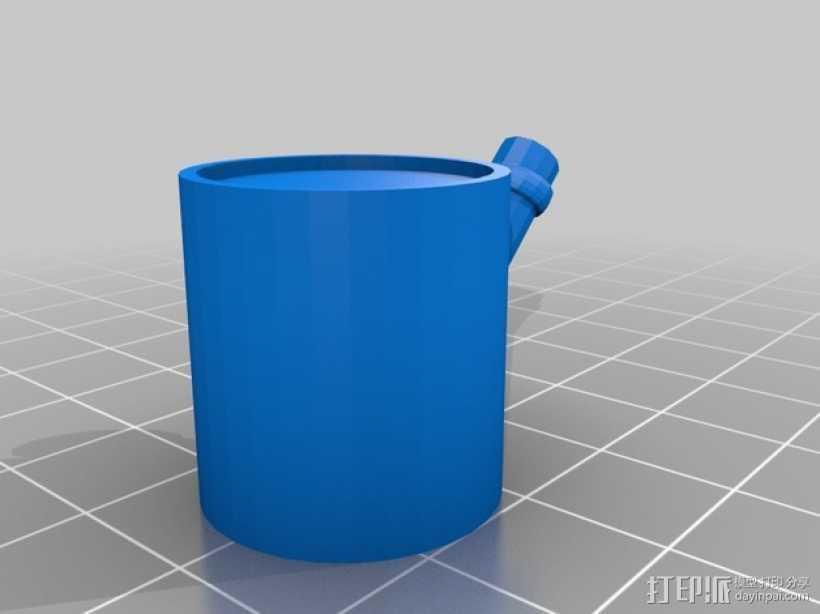 水族馆的CO2 释放器 3D打印模型渲染图