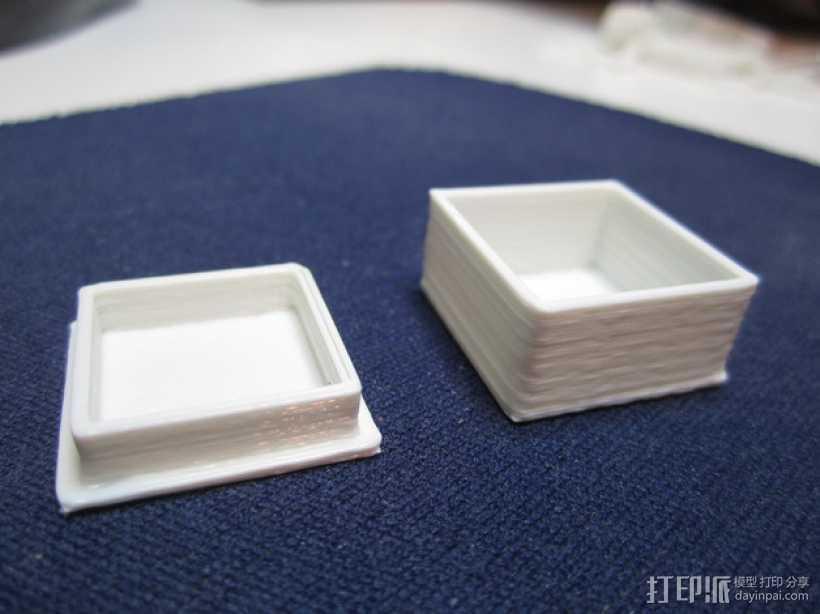 定制性盒子 3D打印模型渲染图