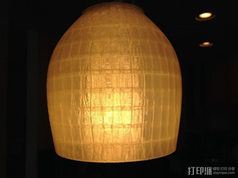 吊灯灯罩 3D打印模型渲染图