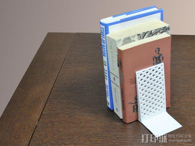 书立 3D打印模型渲染图