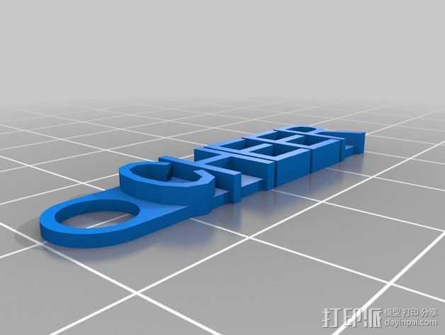 CHEER 3D打印模型渲染图