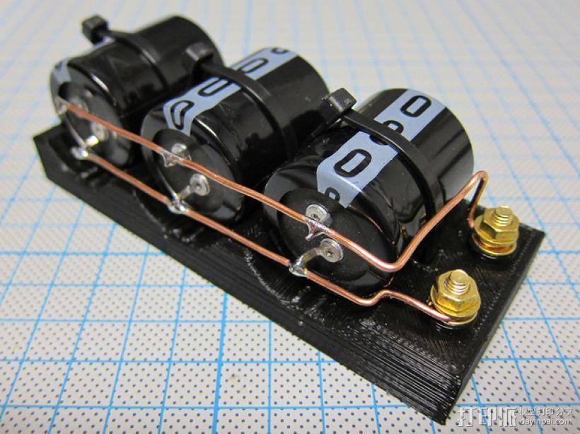 电容槽 3D打印模型渲染图