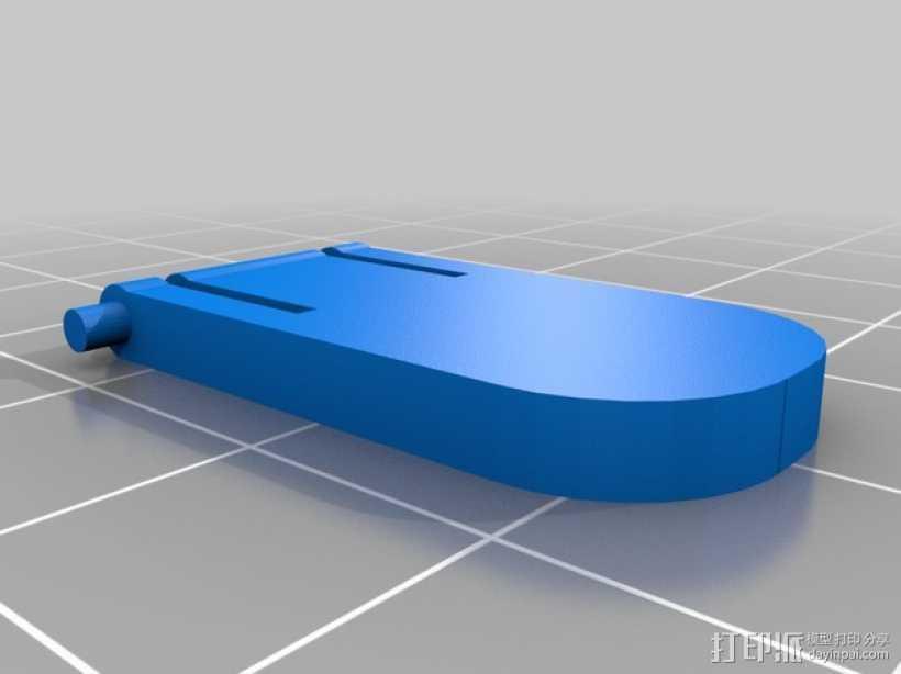 HP KU-1156  键盘固定腿 3D打印模型渲染图