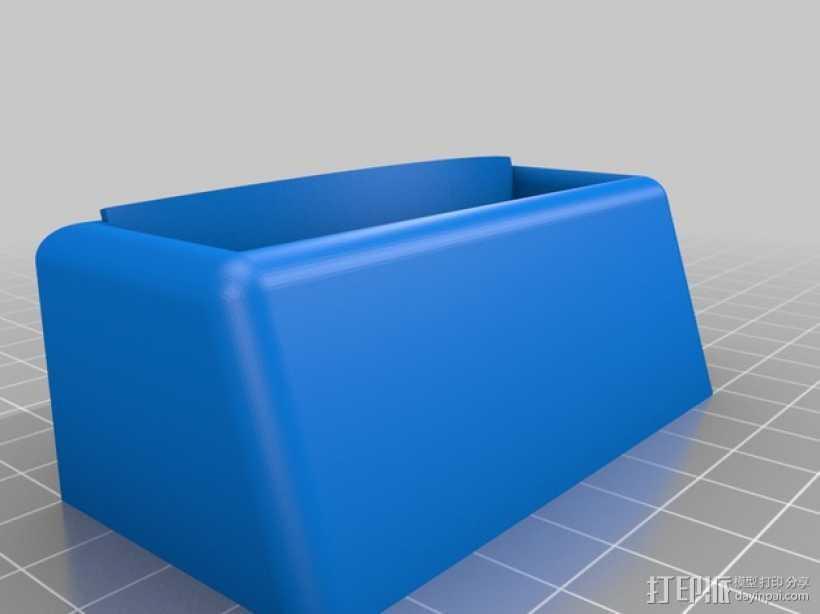通用性手机底座 3D打印模型渲染图