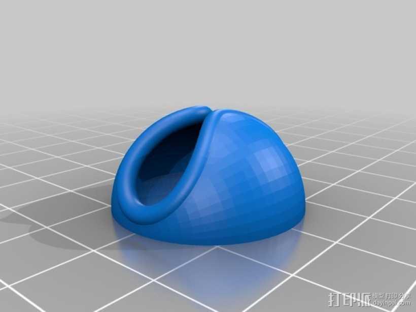 电缆支架 3D打印模型渲染图