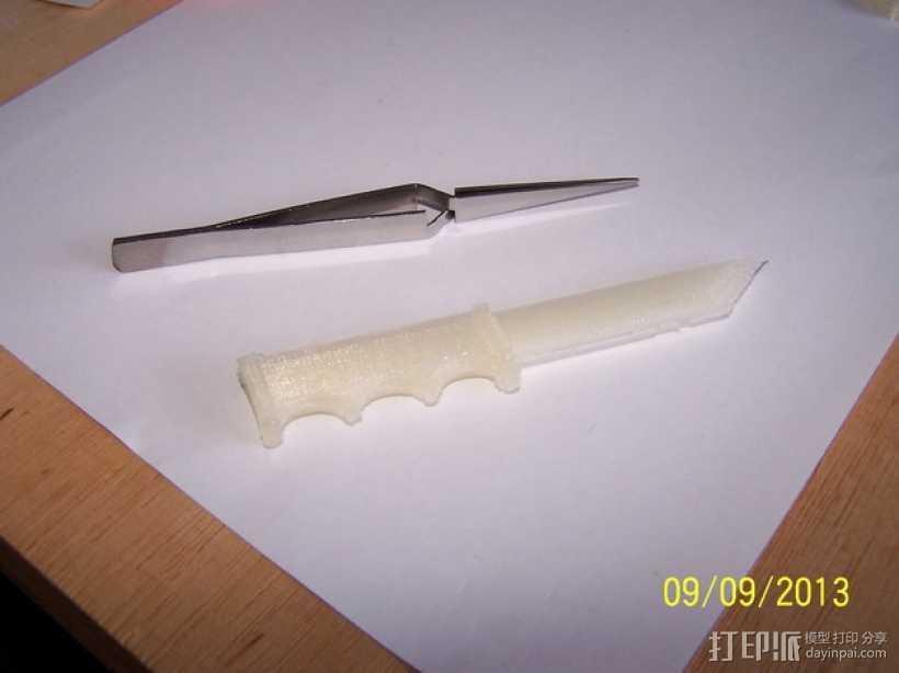 开信刀 3D打印模型渲染图