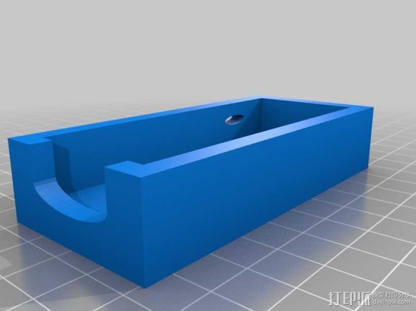 厉动体感控制器保护壳 3D打印模型渲染图