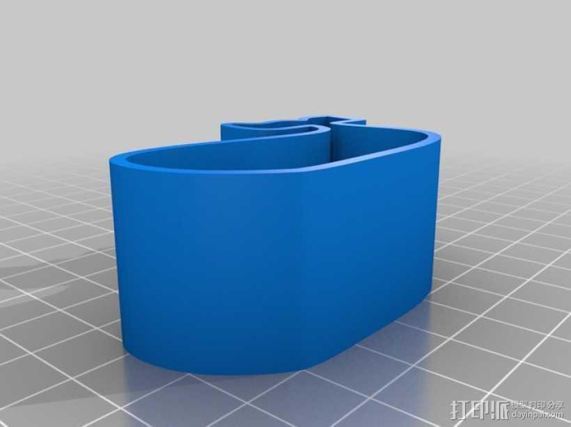 鲸鱼 饼干制作模具 3D打印模型渲染图