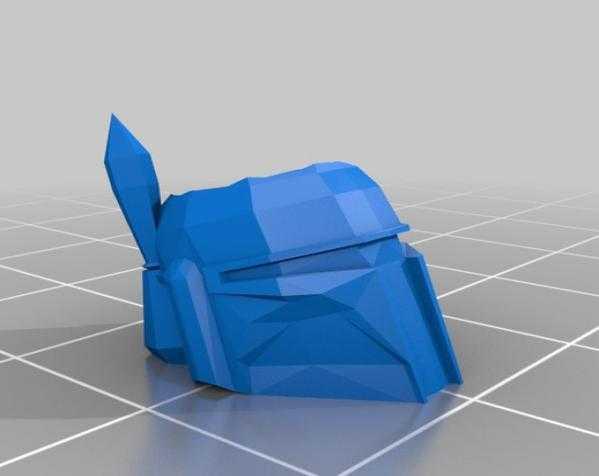 波巴·费特笔筒 3D打印模型渲染图