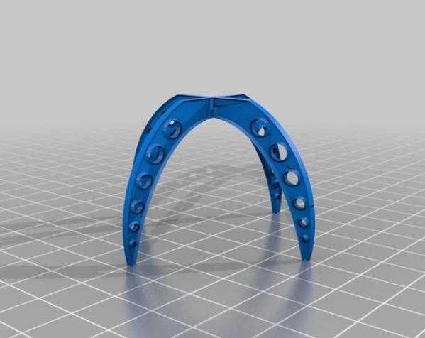 快速支架  03 3D打印模型渲染图