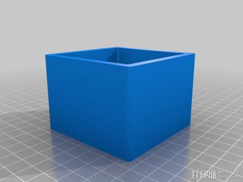 小盒子 3D打印模型渲染图