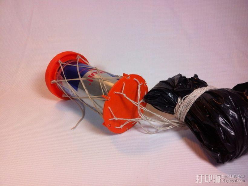 红牛功能饮料发射器底座 3D打印模型渲染图