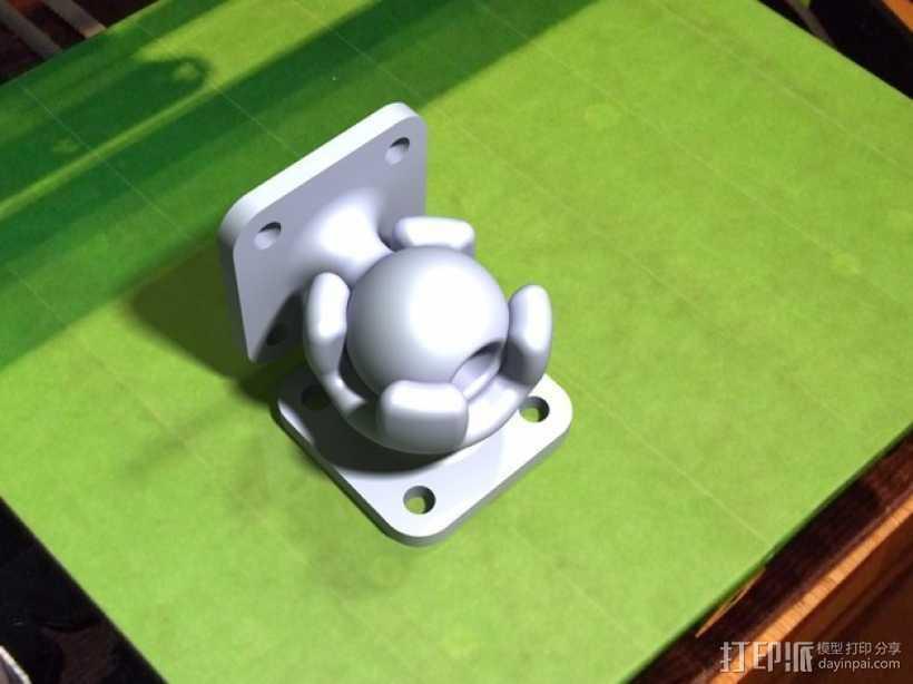 球形底座 3D打印模型渲染图