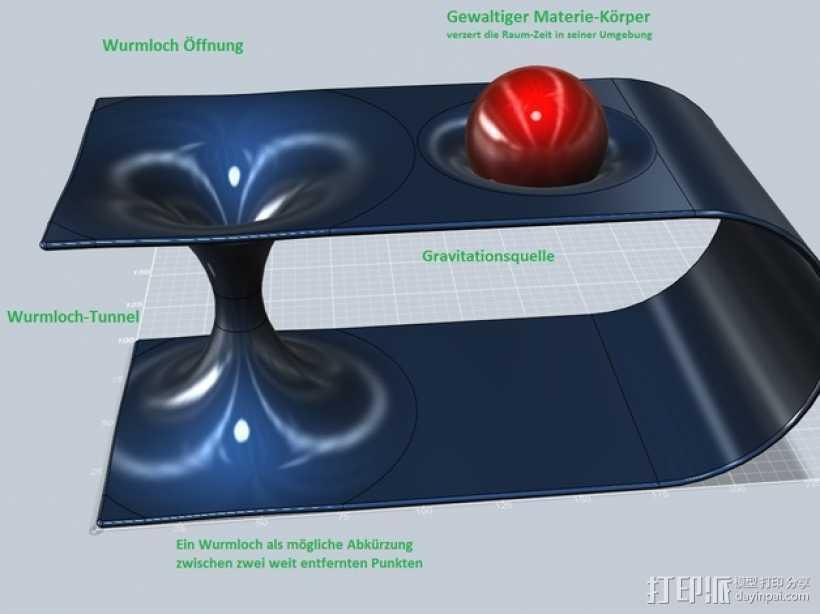 虫孔 模型 3D打印模型渲染图