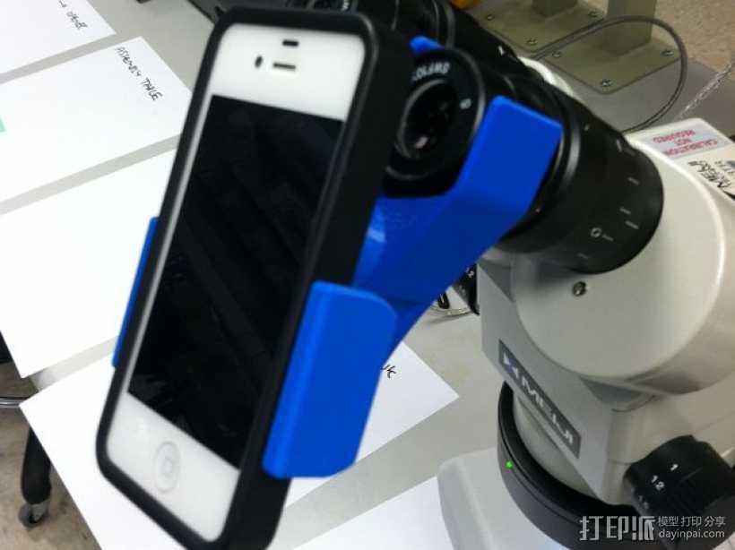 手机支架适配器 3D打印模型渲染图