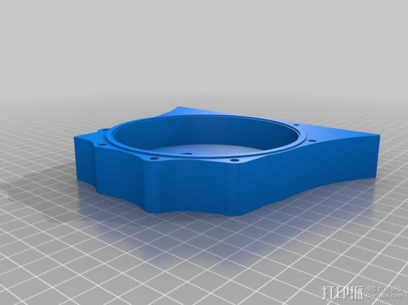 硬盘驱动器 3D打印模型渲染图