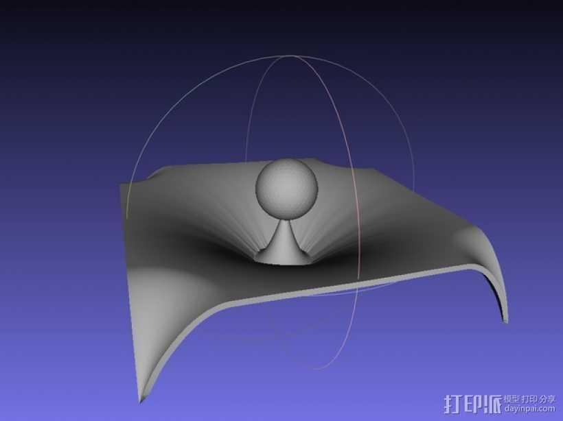 重力 模型 3D打印模型渲染图