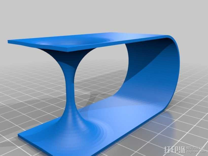虫洞模型 3D打印模型渲染图