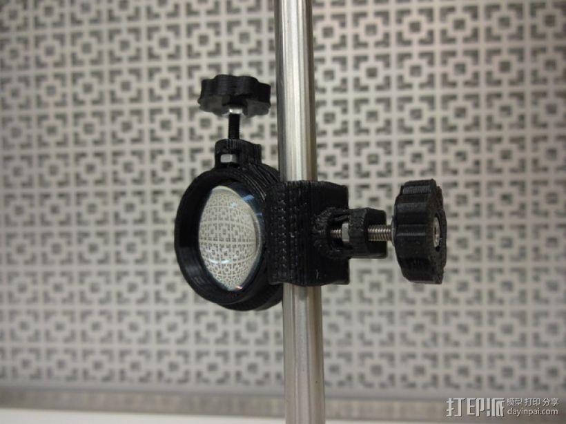 透镜架 3D打印模型渲染图