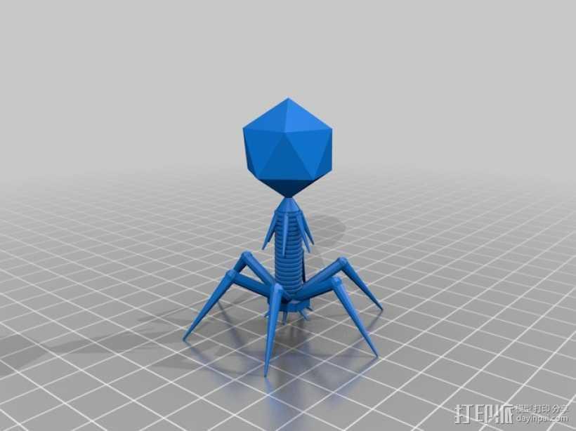 抗菌素 模型 3D打印模型渲染图