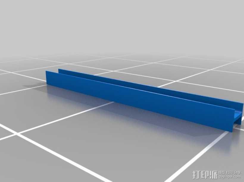 横梁 3D打印模型渲染图