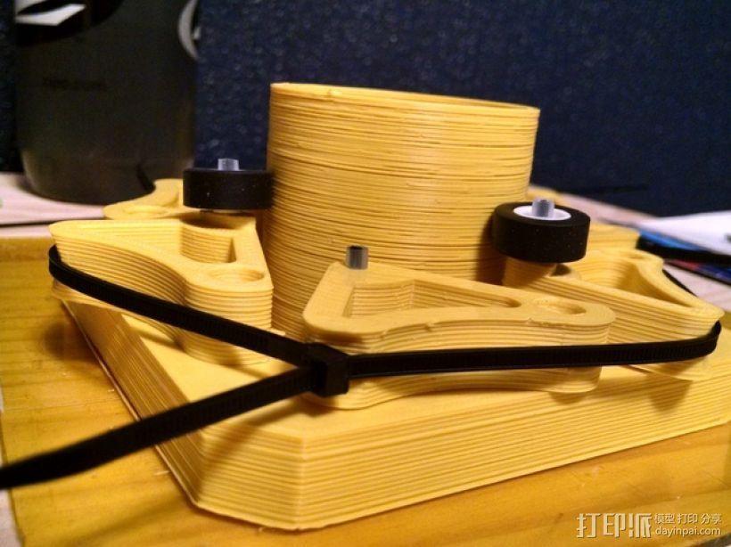 望远镜聚焦器 3D打印模型渲染图
